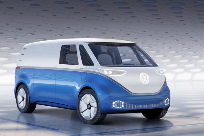 vw id buzz cargo concept 2018