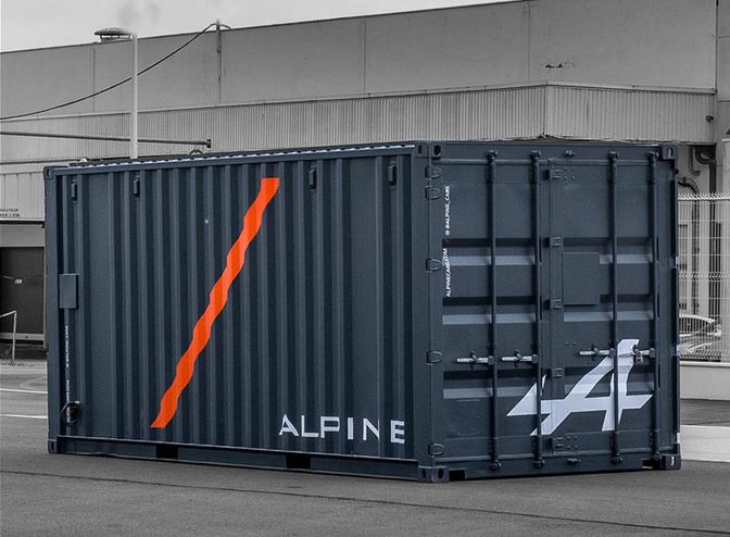 alpine container