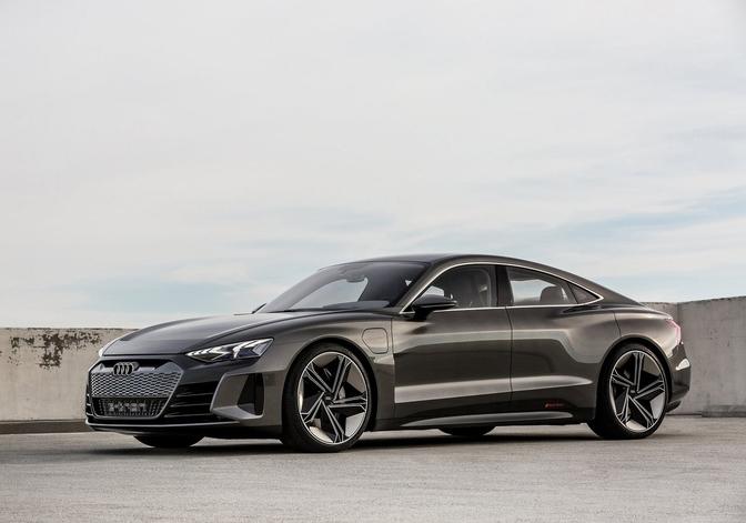 Audi e-tron Sportback concept 2019