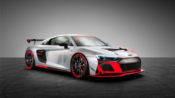 Audi R8 LMS GT4 facelift 2019