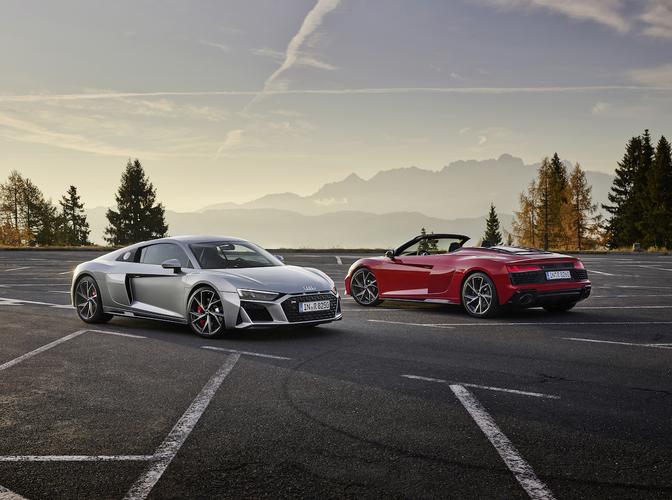 Audi R8 V10 RWD (2019)
