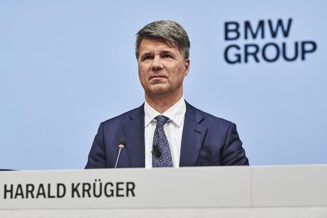 bmw harald kruger CEO
