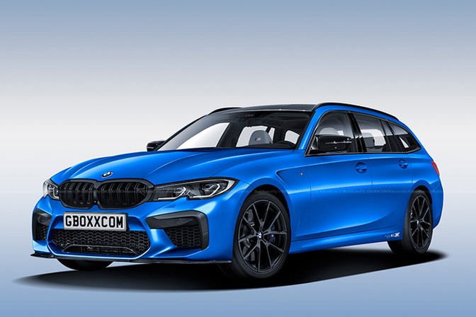 bmw m3 touring render 2019