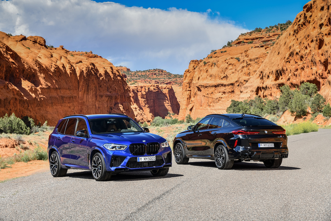 BMW X5 M X6 M Competition 2019