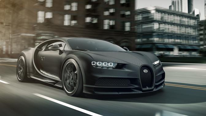 Bugatti Chiron Noire Sportive 2019