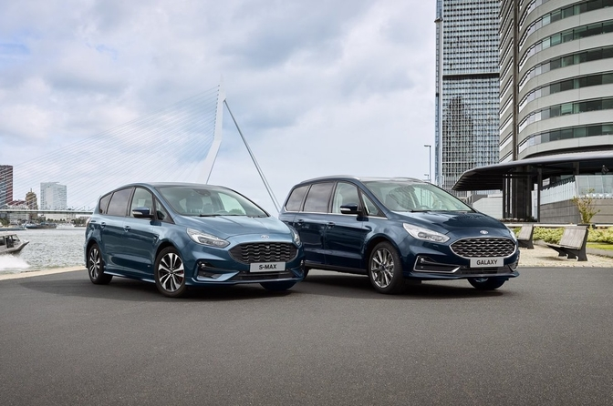 Ford Galaxy S-Max facelift 2019