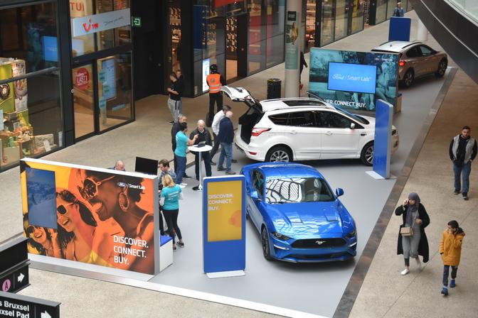 Ford Smart Lab Docks Bruxsel