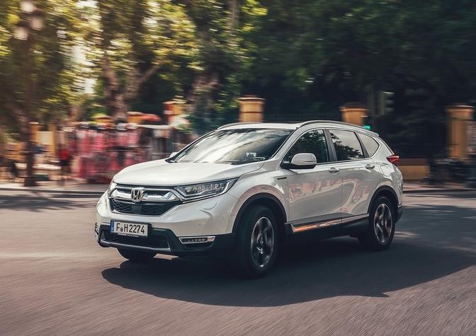 Rijtest Honda CR-V Hybrid AWD 2019