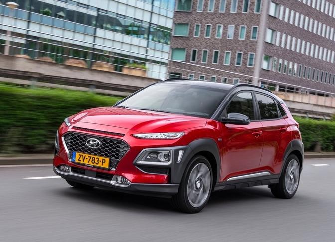Hyundai Kona Hybrid review rijtest prijs 2019