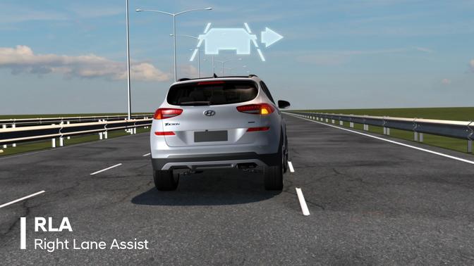 right lane assist hyundai