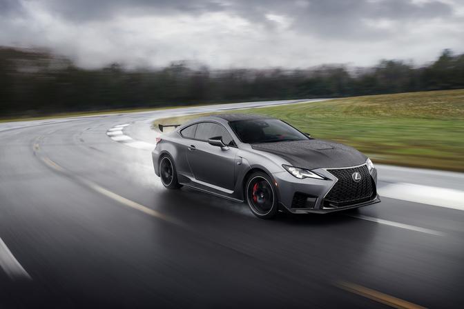 lexus rc f facelift 2019