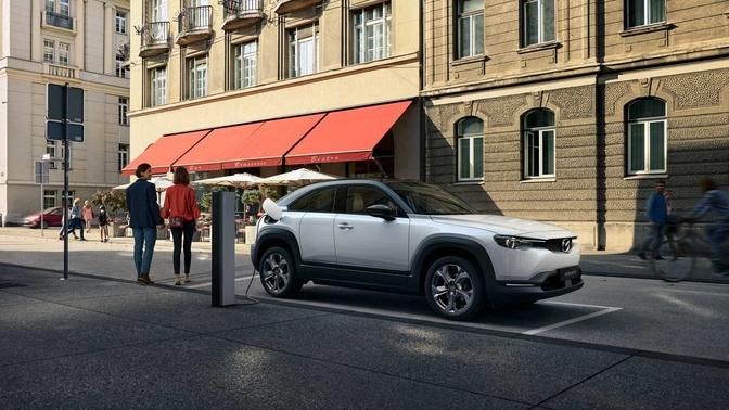 Mazda MX-30 EV prijs Elektrisch belgie