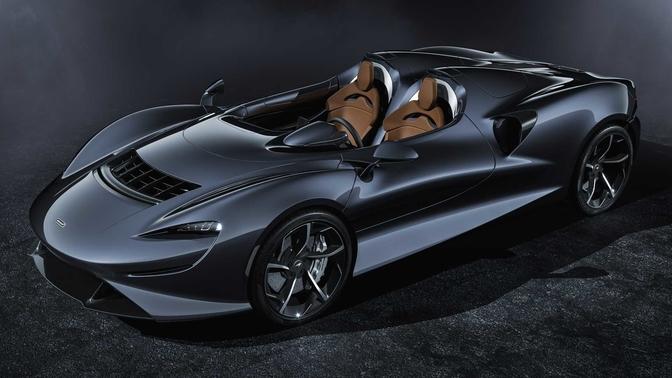 McLaren Elva productie