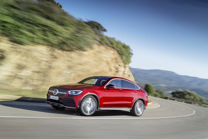 mercedes glc coupe facelift 2019