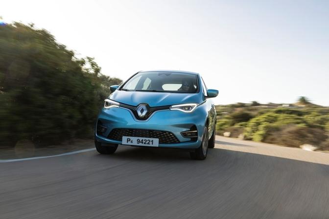 Renault Zoé prijzen België