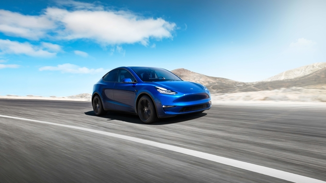 Tesla Model Y productie