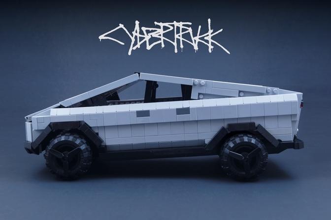 Tesla Cybertruck Lego Set Lego Idea