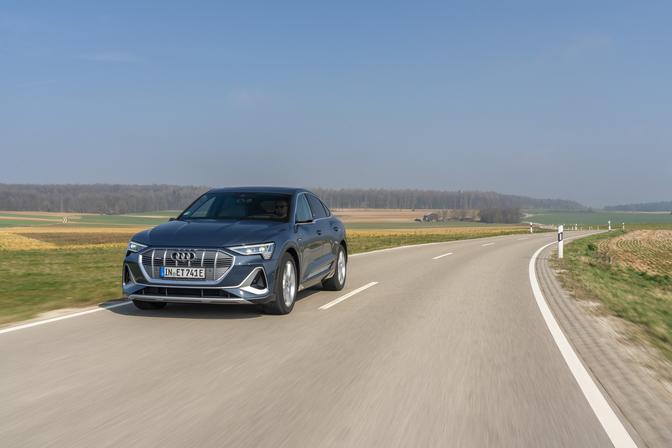 Audi e-tron Sportback 55 quattro (2020) voorkant