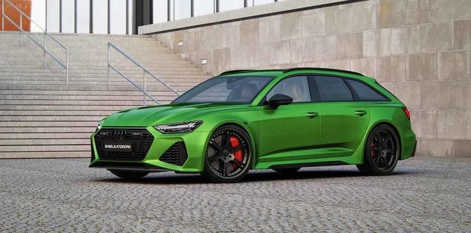 Wheelsandmore Attentension Audi RS6 1010 pk 2020