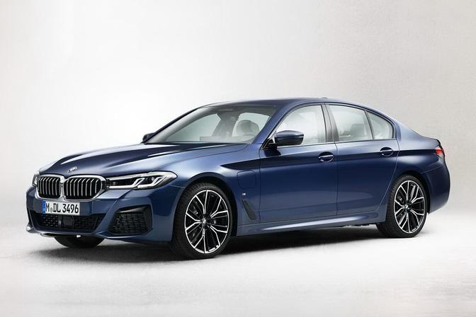BMW 5 Reeks LCI facelift 2020 leaked
