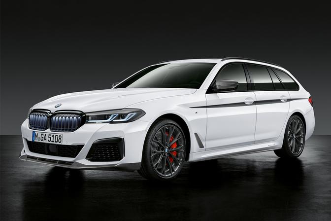 BMW 5 Reeks facelift 2020 Iconic Glow lichtgevende nieren