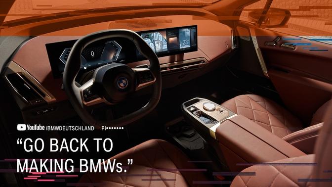 BMW iX OK Boomer