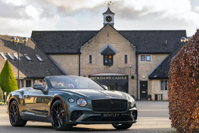 Bentley Continental GT Convertible Mulliner Equestrian Edition 2020