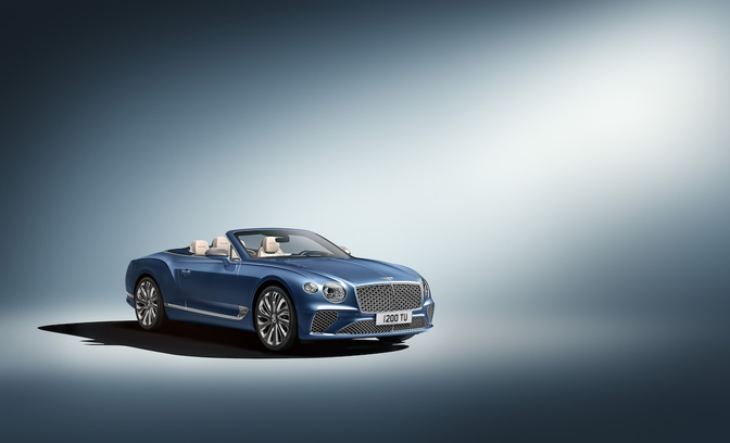 Bentley Continental GT Mulliner Convertible Genève 2020