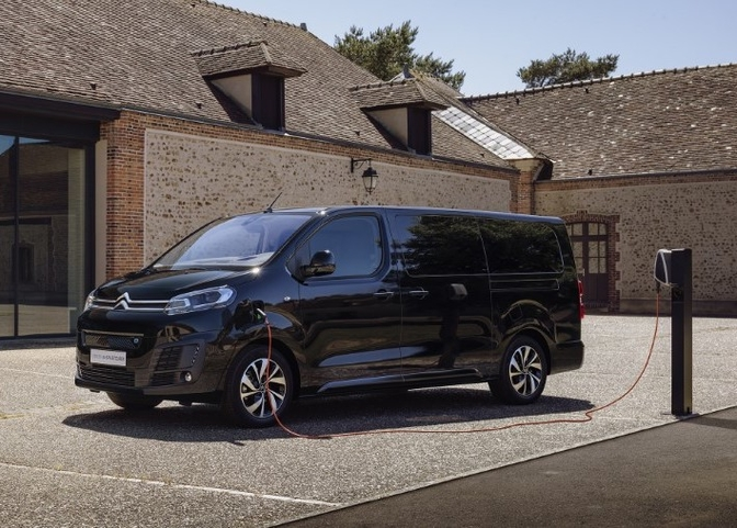 Citroën Ë-SpaceTourer elektrisch 2020