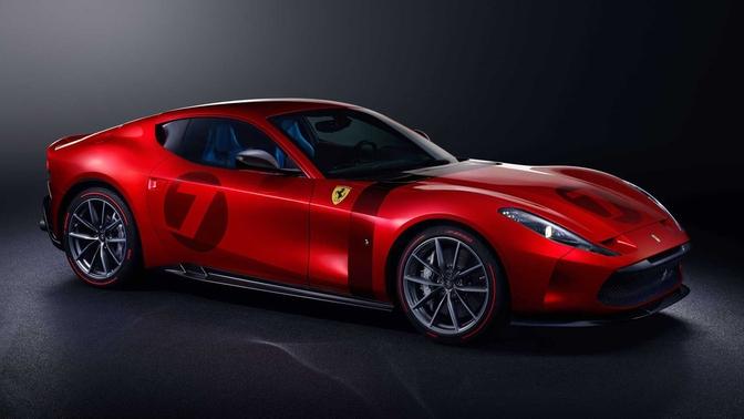 Ferrari Omologata one-off (2020)
