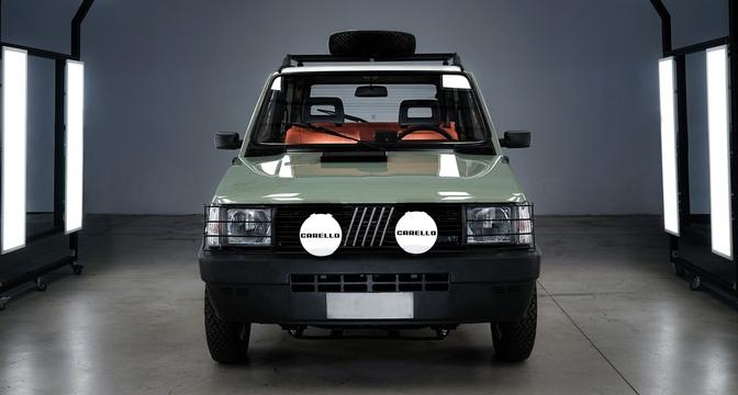 Fiat Pandina Jones Car&Vintage Edition Garage Italia 2020