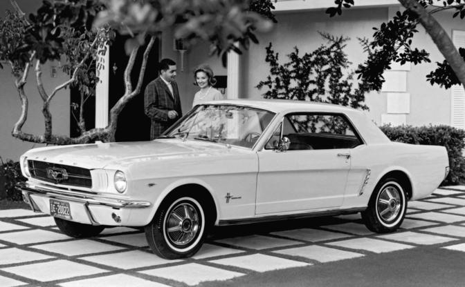 Gale Halderman Ford Mustang