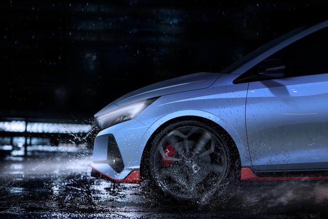 Hyundai i20 N teaser 2020