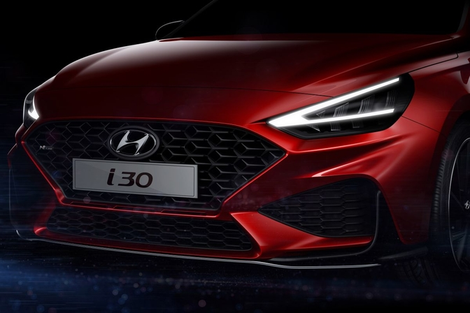 hyundai i30 facelift 2020 teaser