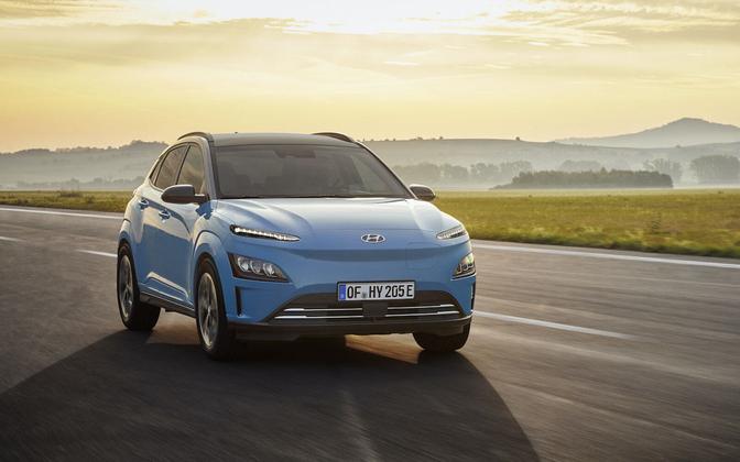 Hyundai Kona Electric facelift 2020