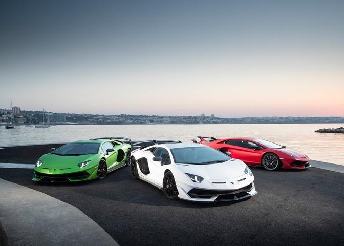 Lamborghini Aventador SVJ recall funny