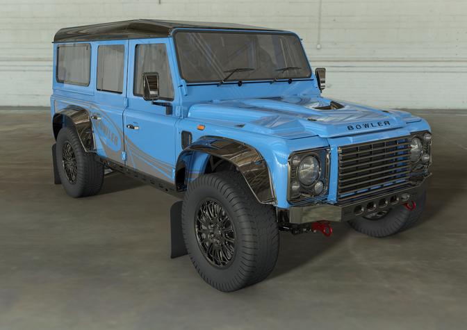 Bowler CSP 575 Land Rover Defender