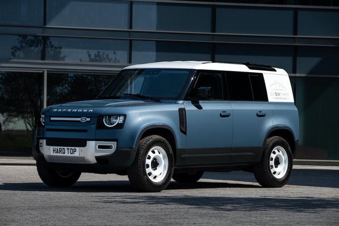 Land Rover Defender Hard Top lichte vracht