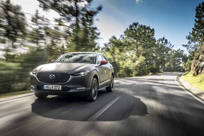 Mazda MX-30 rijtest preview 2020