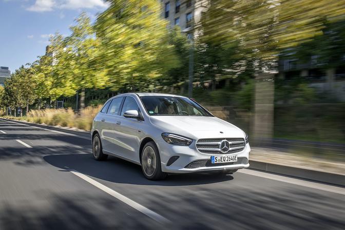 Mercedes B 250 e prijs 2020