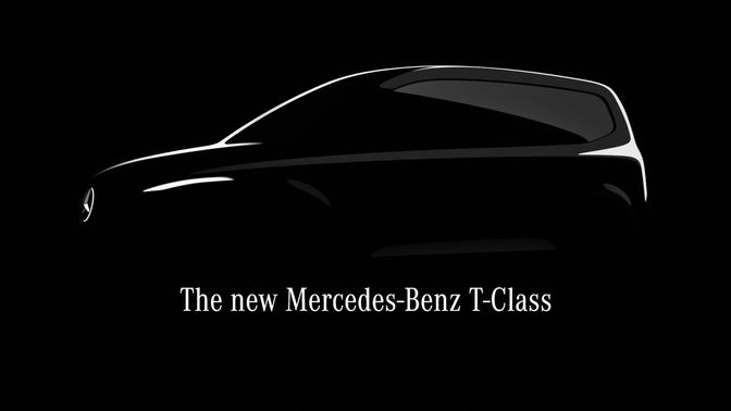 Mercedes T-Klasse teaser