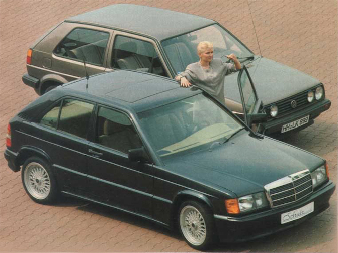 Schulz Mercedes 190E Compact City