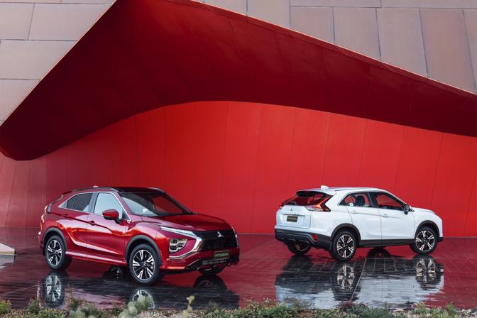 Mitsubishi Eclipse Cross facelift 2020