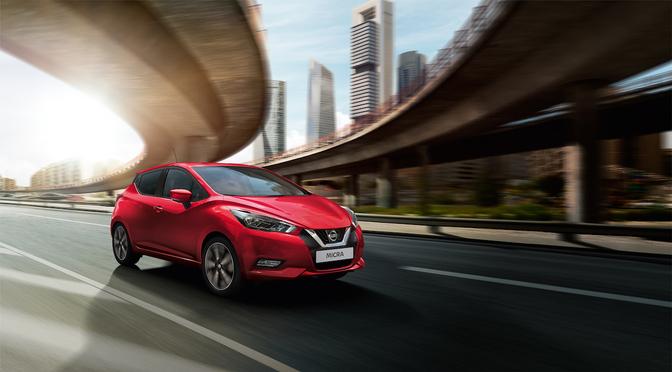 Nissan Micra facelift 2020