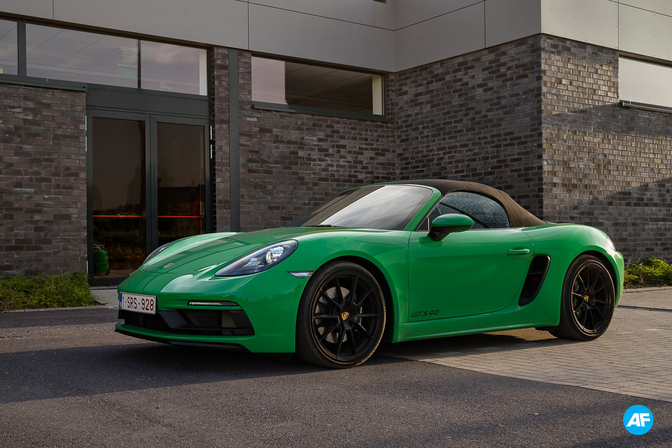Porsche 718 Boxster GTS 2020 (rijtest)