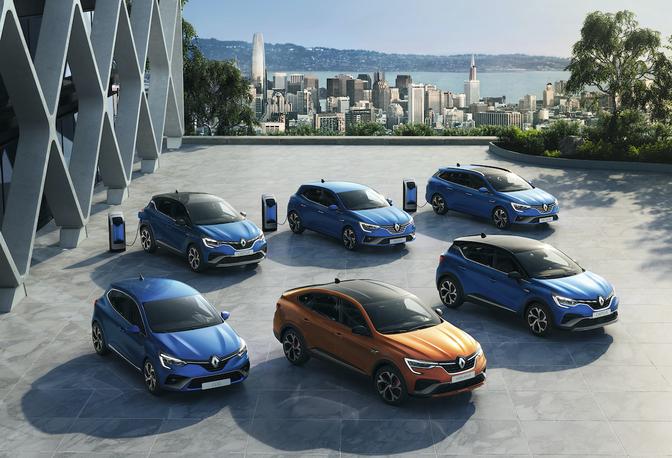 Renault Arkana Captur Mégane E-Tech 2020