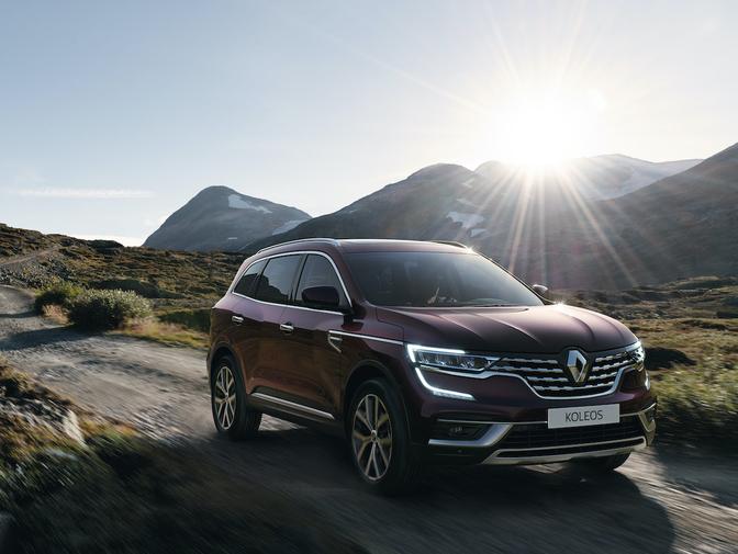 Renault Koleos facelift 2020