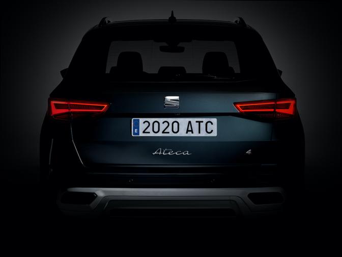 Seat Ateca facelift Teaser
