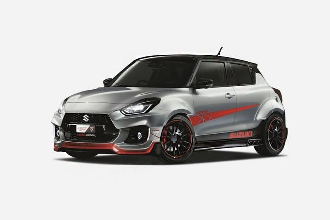 Suzuki Swift Sport Katana concept Tokio 2020-