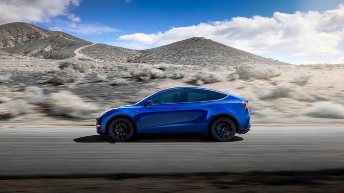 Tesla Model Y rijbereik